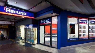 Refund opens first real estate office