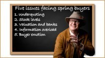 Underquoting among five key issues facing spring residential...