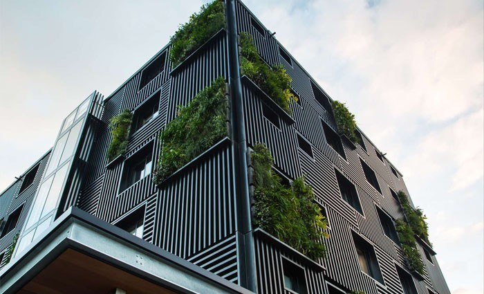 the block sky high building wins international architecture awards